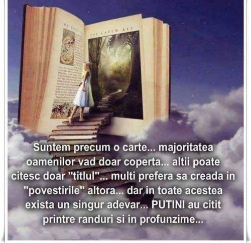 suntem o carte...